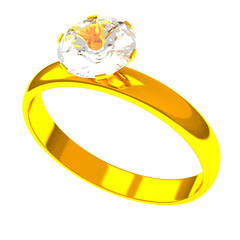 Diamond ring, 3d