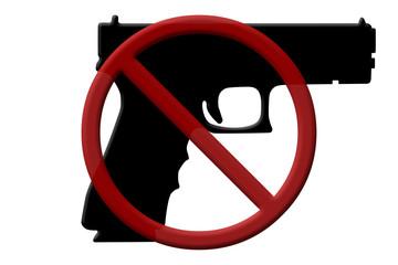 Ban on handguns rifles