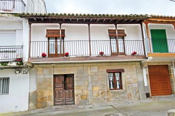 Wall Mural - Casa típica de Aldeanueva del Camino, Cáceres, España