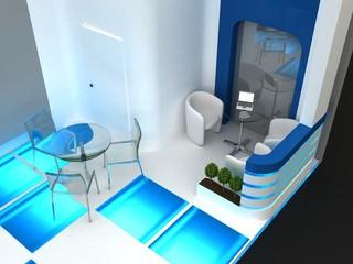 Exhibition Stand Interior / Exterior Sample