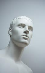mannequin side face