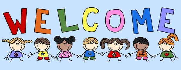 mixed ethnic children header banner