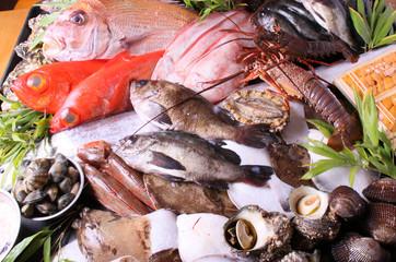 魚貝類盛合せ