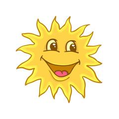 Smile of sun
