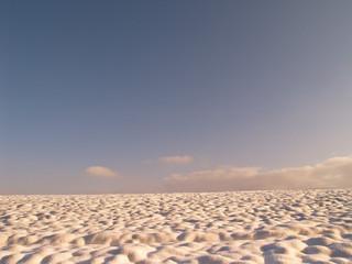 Schneebuckel bei Abendsonne 3