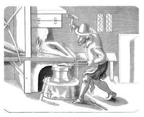 Blacksmith - Forgeron - Schmied - 17th century