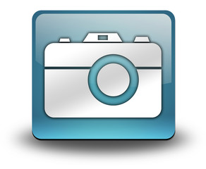 "Light Blue 3D Effect Icon ""Camera"""