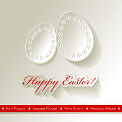 Happy Easter Papier 1