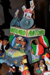 satire elections in Italy - Festival of whistles Rutigliano