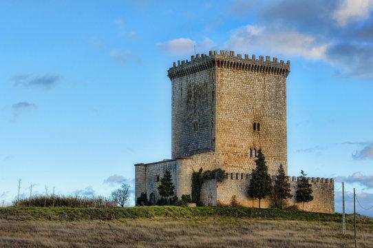 Castillo de Mazuelo de Muñó ,Burgos (España)