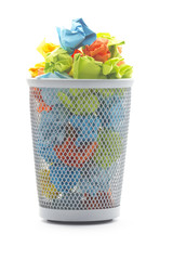 office wastepaper basket
