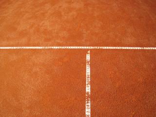 Tennisplatz T-Linie  67