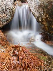 cascada en la Garganta del Zapatero, Avila