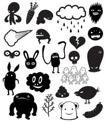 Cute Monster characters vol.1