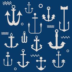 Various Anchor Collection - for your logo, design, scrapbook