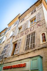 Dans les rues d'Aix en Provence