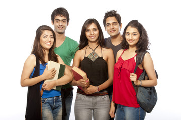 Group of Teenager Student