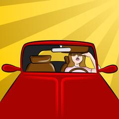 Driver Sunglare