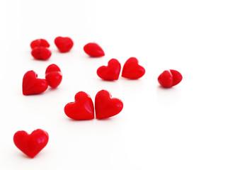 Rote Herzen | Valentinstag | Liebe und Hochzeit