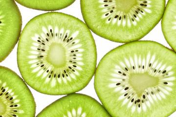 slices of kiwi