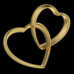 Heart-Shaped Wedding Rings