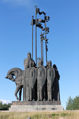 the monument to Prince Oleg