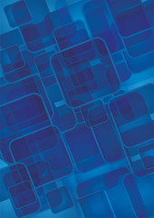 Vector modern blue abstract background
