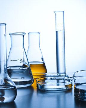 Beaker petri dish pipette and industrial jars