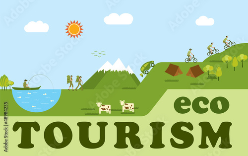 benifits of eco tourism Eco – tourism refers to a form of tourism in which the main motivation of the tourist is the observation and appreciation of the nature as well as tradition and culture prevailing in a natural area.