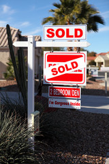 Real Estate - Sold Sign