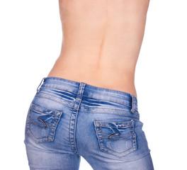 butt in jeans