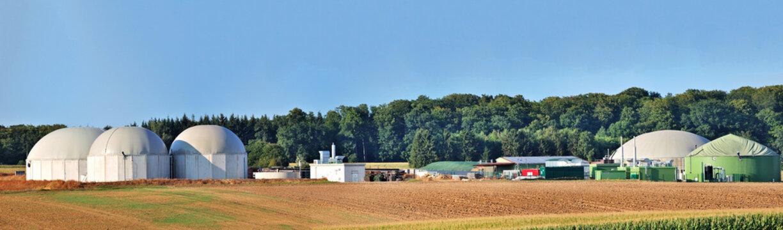 Bio fuel plant panorama.