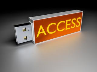 Access usb drive