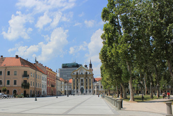 Congress square, Ljubljana, Slovenia, Central Europe