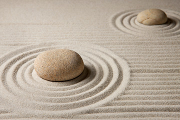 Printed roller blinds Zen Mini zen garden