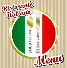 RISTORANTE ITALIANO MENU