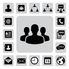 Icon set of business ,Illustration