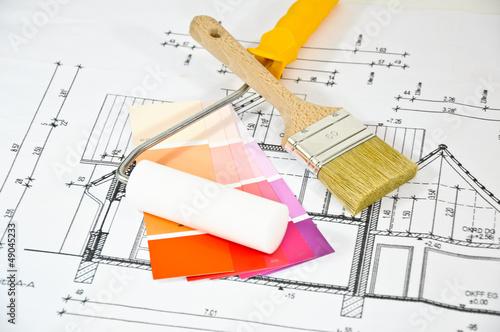 malerarbeiten stockfotos und lizenzfreie bilder auf. Black Bedroom Furniture Sets. Home Design Ideas