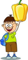 Мультфильм мальчик с перцем