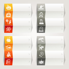 Rainbow - Halloween icons / Navigation template