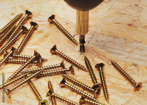 rotating wood screw with osb plate with more wooden screws stock photo and royalty free images. Black Bedroom Furniture Sets. Home Design Ideas
