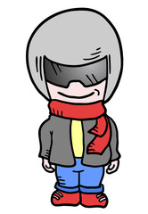 Helmet kid