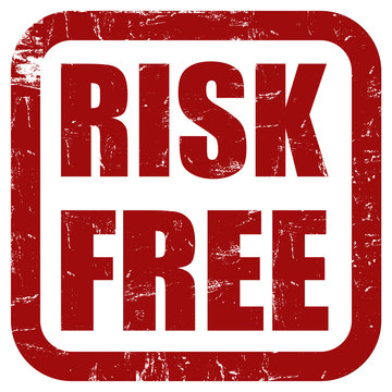 Grunge Stemepel rot RISK FREE