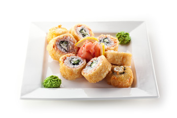 Salmon Fried Roll