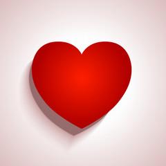 Heart applique background