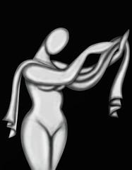 corpo nudo astratto
