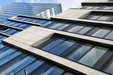Modernes Bürogebäude in Düsseldorf, Deutschland