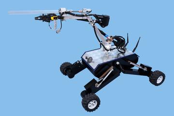 Obraz Robot badawczo naukowy. - fototapety do salonu