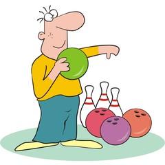 figure-bowling