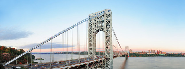 Fototapete - George Washington Bridge panorama